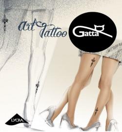 Rajstopy Gatta ART TATTO 02
