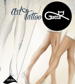 Rajstopy Gatta ART TATTO 05