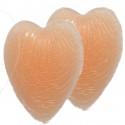 Osłonki silikonowe na brodawki PS-05 serca