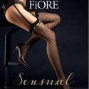 Fiore Burlesque - pończochy kabaretki do paska