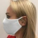 Maska na twarz 2-warstwowa wialorazowa Biała
